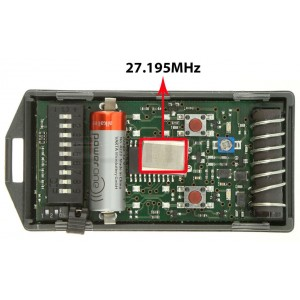 CARDIN S466-TX2 27.195 MHz