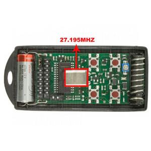 CARDIN S738-TX4 27.195 MHz
