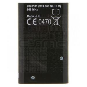 Telecomando cancello FAAC XT4 868 SLH Nero