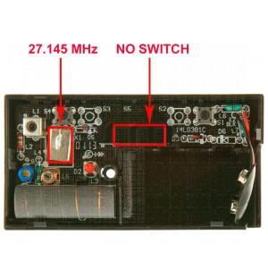 Telecomando LIFTMASTER 750E 27.145 MHz