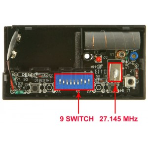 Telecomando LIFTMASTER 751E 27.145 MHz switch