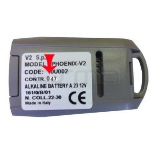 Telecomando per Garage V2 PHOENIX COTR.47_2