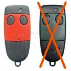 Telecomando CARDIN S486-QZ2 rosso 868,35MHz
