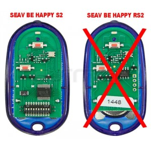 Telecomando per Garage SEAV Be Happy S2