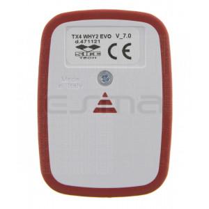Telecomando SICE TX4 WHY2 EVO rosso