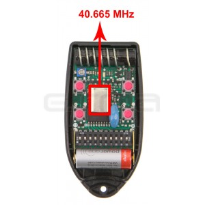 Telecomando TELCOMA FOX4-40.665 MHz