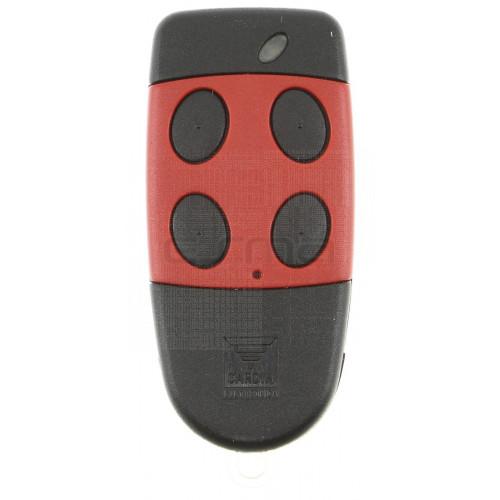 Telecomando CARDIN S486-QZ4 rosso 868,35 MHz - Registrazione nella ricevente