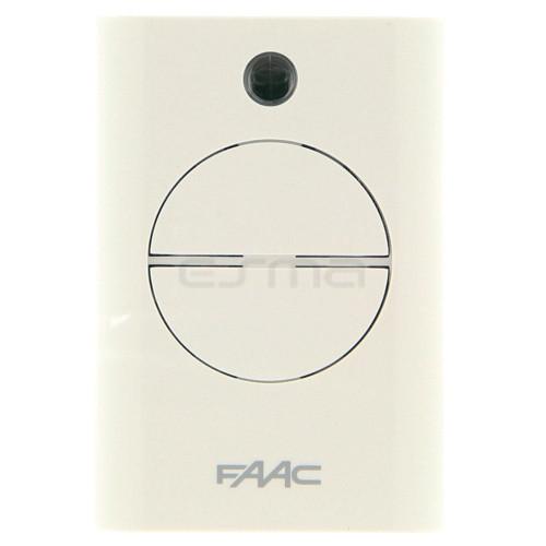 Telecomando FAAC XT4 433 RC - Registrazione nella ricevente