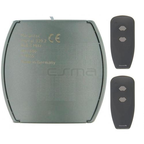 Kit Ricevitore MARANTEC Digital 343 + Digital 382 433 MHz