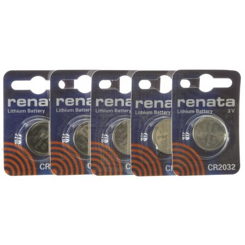Pacco batterie al Litio CR2032