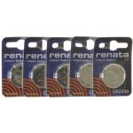 Pacco batterie al Litio CR2430