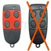 CARDIN S486-QZ4 rosso 868,35MHz
