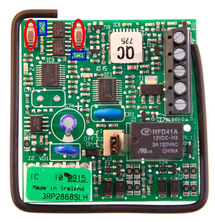 Recevitori FAAC RP2 868 SLH