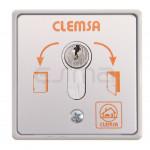Selettore a chiave CLEMSA MC 104